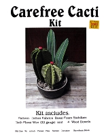 Carefree Cactus Kit - Cacti Home Decor 3D Sewing Project - Sold by the Kit (M409.19)