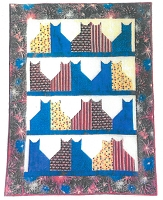 Quilt Kit - Cat City 42