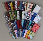 10 Fat Quarters - Assorted Novelty Prints Stash Building Quality Quilters Cotton Fabric Bundle