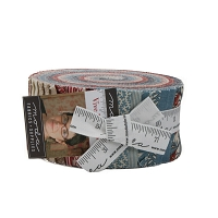 Jelly Roll Vive Le France by French General Red Cream Blue Reproduction 2.5