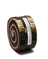Jelly Roll Holiday Flourish Holiday Colorstory Red Green Cream Gold Metallic Winter Christmas 2.5