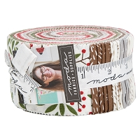 Jelly Roll Merriment by Gingiber Christmas Holiday Festive 2.5