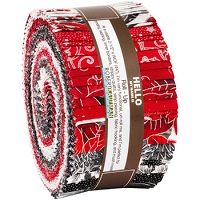 Jelly Roll - Holiday Flourish - Silver Colorstory Christmas Winter 2.5