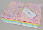 Half-Yard Cut Bundle - Flutter Batiks Pastels 20 Pieces Quilter's Cotton Precuts Boundless Fabrics by Craftsy (crfty00476717) M534.08