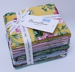 Fat Quarter Bundle - Rosette Pastel Florals Roses Flowers Boundless Fabrics by Craftsy 20 Count Fat Quarters (crfty0491528) M535.09