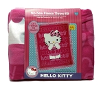 Hello Kitty Tie Blanket Kit - Fuchsia Pink Kids Girls 43