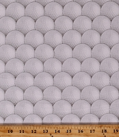 Cotton Golf Balls Golfing Hole in One Sports Cotton Fabric Print by the Yard (36402-3)