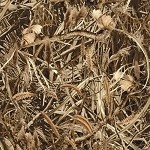 Fleece Marsh Camo Camouflage Leaves Branches Twigs Brush Fleece Fabric Print by the Yard (o37146b)
