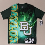 Shirt - Baylor Bears Baylor University Green T-Shirt Size Extra-Large (XL) - New M420.03
