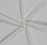 Coldgear Wickaway White Poly Cotton Lycra Stretch Fabric By the Yard (5474)