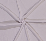 Cotton Lycra White Stretch Fabric By the Yard (5742)