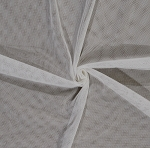 Ivory English Netting Polyester Mesh Net Fabric By the Yard (IVORY-2237V-5N)