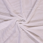 Power Mesh Lite Nylon/Lycra Fabric by the Yard - White (9159Z-8M)
