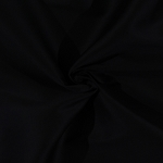 Wovenstretch Chino Poplin Cotton/Spandex Blend Fabric by the Yard - Black (8977R-7M)