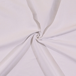 Wovenstretch Chino Poplin Cotton/Spandex Blend Fabric by the Yard - White (8977R-7M)