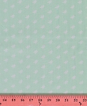 Heather Bailey Momentum Factor Mint Aqua Rayon Fabric by the Yard (RAHB002-Aqua)