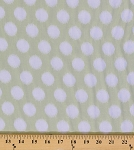 Heather Bailey Momentum Threaded Polka Dots Circles Circle Rayon Fabric by the Yard (RAHB003-Gray)