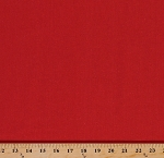 Cotton Linen Blend Freespirit Essentials Red Fabric Sold By the Yard (LILS019-RED)