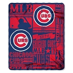 Chicago Cubs MLB Baseball Sports Team 50x60 Fleece Fabric Throw