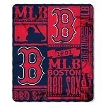 Boston Red Sox MLB Baseball Sports Team 50x60 Fleece Fabric Throw