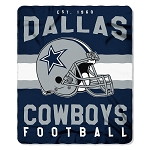 Dallas Cowboys NFL Football Sports Team 50x60 Fleece Fabric Throw