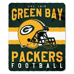 Green Bay Packers NFL Football Sports Team 50x60 Fleece Fabric Throw