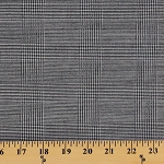Glen Plaid Wool Fabric by the Yard (9608F-11M)