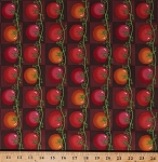 Cotton Tomatoes Tomato Fruits Vegetables Veggies Vines Plants Garden Gardening Farmers Farming Produce Food Kitchen Lush Harvest Red Checkers Squares Cotton Fabric Print by the Yard (4652T-9A-tomato)