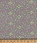 Cotton Amy Butler Glow Circles Circle Quarter Moon Dots Mist Cotton Fabric Print by the Yard (PWAB133-MIST)