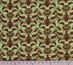 Cotton Tina Givens Fortiny Vintage Motif Cotton Fabric Print by the Yard PWTG121-FIELD