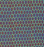 Cotton Brandon Mably-Spring Geometic Cells Cotton Fabric Print by the Yard PWBM041-Pomegranate