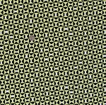 Cotto Geometic Bow Ties Erin McMorris Cotton Fabric Print by the Yard PWEM055 Chartreuse