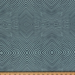 Cotton Tula Pink Coordinate True Colors Optical Illusion Lazy Stripe Cotton Fabric Print by the Yard (PWTC028.SKYX)