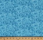 Cotton Landscape Medley Blue Water Ripples Ocean Cotton Fabric Print by the Yard (366-BLUE