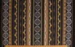 Cotton Into the Wild Chase Aztec Southwest Style Vertical Stripe Eagle Cotton Fabric Print by the Yard CX7231-CTRN