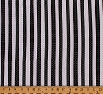 Cotton Stripe Squares Cotton Fabric Print by the Yard APS-13971-1