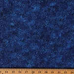 Cotton Ambience Coordinate Lagoon Blue Dots Cotton Fabric Print by Yard (20710-44)