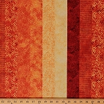 Cotton Ambience Coordinate Tahiti Sun Stripe Patterned Cotton Fabric Print by Yard (20707-24)