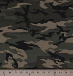 Cotton Urban Camo Camouflage Olive Cotton Fabric Print by the Yard 30170-19
