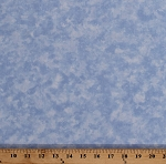 Cotton Marbled Sky Blue Clouds Landscape Light Blue Cotton Fabric Print by the Yard (9810)