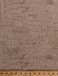 Cotton Coffee Types Words Mocha Grande Espresso Cafe Latte Americano Coffee Stains Food Kitchen Vintage Coffee House Cotton Fabric Print by the Yard (Y1888-12-KHAKI)
