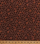 Cotton Coffee Beans Bean Espresso Food Kitchen Barista Cafe Brown Coffee House Cotton Fabric Print by the Yard (Y1890-15-BROWN)