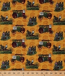 Cotton Farmall International Harvester Titan Mogul Vintage Antique Tractors Farm Vehicles Implement Equipment Horses Farmers Farming Country Harvest Scenic Cotton Fabric Print by the Yard (9997/X8000-ASST1-8F5)