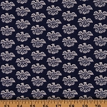 Cotton Eagles Emblems Americana Eagle Blue Patriotic Independence Day Fourth of July Cotton Fabric Print by Yard (56993-1600715)