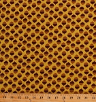 Cotton Acorns Acorn Oak Nuts Seeds Woods Forest Yellow Brown Acornucopia Cotton Fabric Print (CX5978-FORE-D)