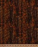 Cotton Woods Trees Forest Leaves Fall Autumn Nature Outdoors Camo Landscape Cotton Fabric Print by the Yard (nature-c1140)