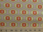 Cotton Geometric Honeycomb Hexagons Amy Butler Midwest Modern Sand Cotton Fabric Print by the Yard (ab25-sand)