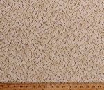 Cotton Wheat Stalks Allover Grains Grass Farmers Farming Farm Crops Harvest Country Days Beige Cotton Fabric Print by the Yard (4708-26622-BEI1)