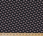 Cotton Scotty Dog Scottie Dogs Doggie Scottish Terrier Aberdeen Terrier Doggies Puppies Animals Canine 30's Playtime Cotton Fabric Print by the Yard (32793-19)