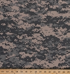 Digital Ripstop Cotton Camo Blend Camouflage Fabric Print By the Yard (3379F-11N)
